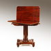 A Pair of American Mahogany Tea Tables from New York or Boston. Circa 1830_Detail
