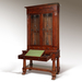 Exceptional Mahogany Bureau Bookcase from Baltimore Maryland Circa 1830_Detail