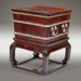 A Chinese Tielimiu and Hongmu Ice Chest_Closed