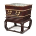 A Chinese Tielimiu and Hongmu Ice Chest_Side_Open