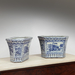 20th Century Blue and White Chinese Porcelain Planter