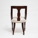 Aesthetic Style Chair with Greek Key Design_Back