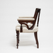 Aesthetic Style Chair with Greek Key Design_Side