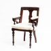 Aesthetic Style Chair with Greek Key Design