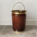 Mahogany Fluted Peat Bucket in George III Style (3)
