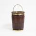 Mahogany Fluted Peat Bucket in George III Style (1)